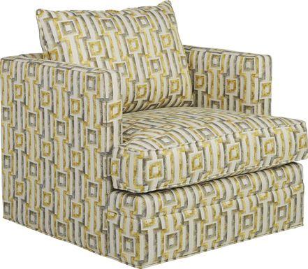 Hera Zest Accent Swivel Chair