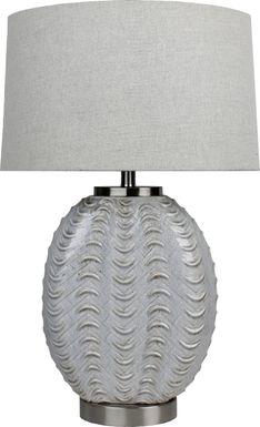 Hermiston Silver Lamp