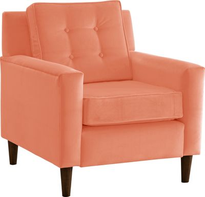 Hiawata Papaya Accent Chair