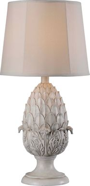 Hibriten White Outdoor Table Lamp