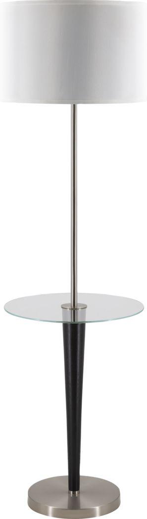 Hickory Bottom Silver Floor Lamp