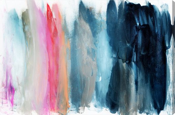 Hidden Vision Blue Artwork
