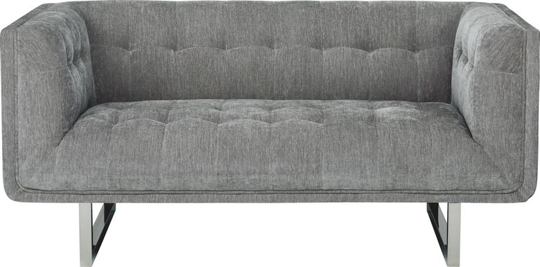 High Rise Gray Loveseat