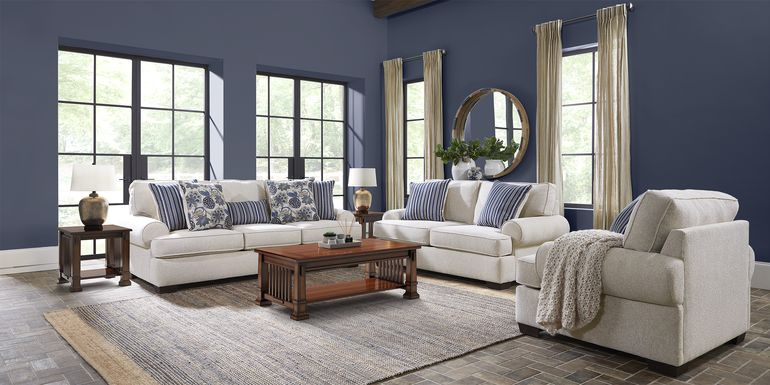 Highland Lakes Beige 7 Pc Living Room
