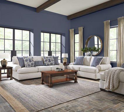 Highland Lakes Beige 8 Pc Living Room
