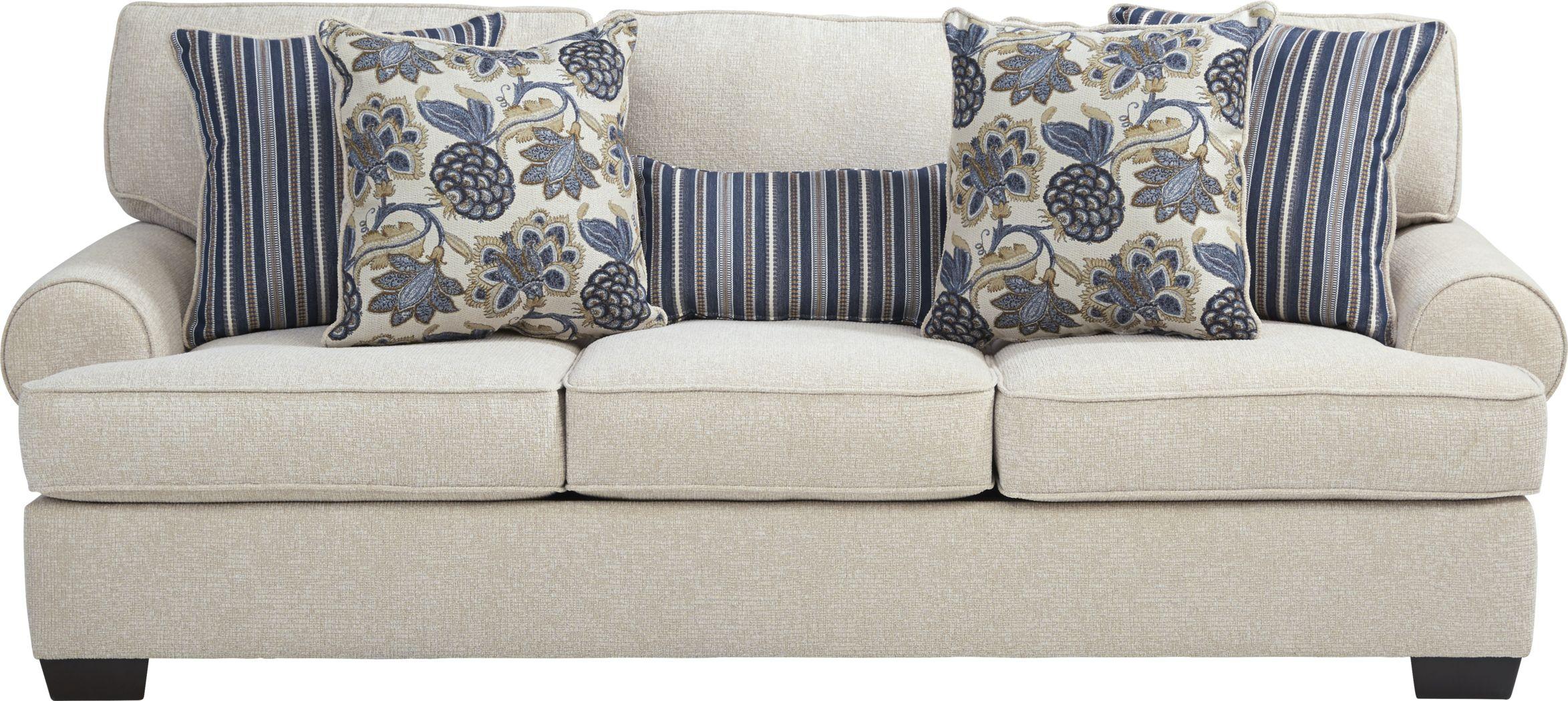 Highland Lakes Beige Sofa