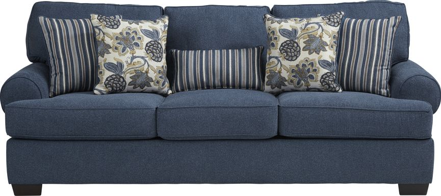 Highland Lakes Blue Sofa