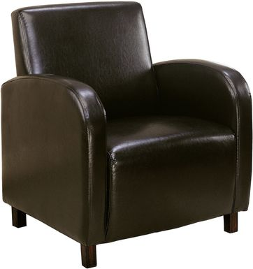 Hilandale Brown Accent Chair
