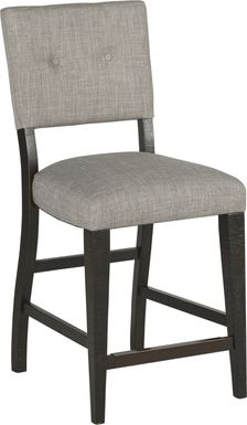 Hill Creek Black Counter Height Stool