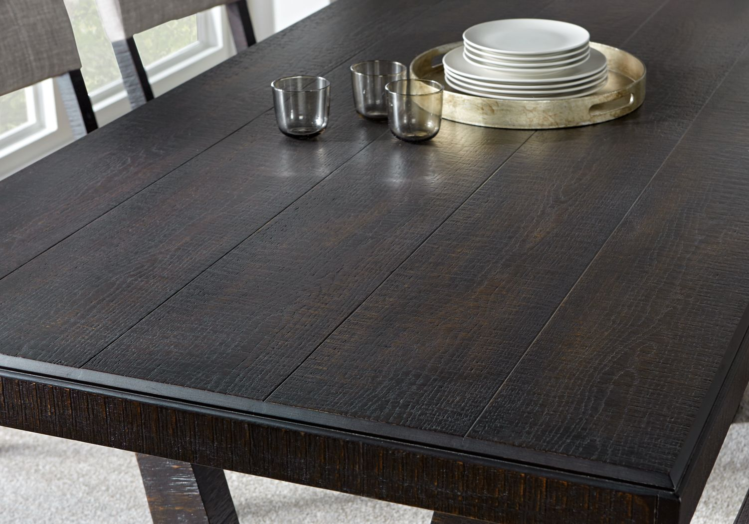 Black Rectangle Tables