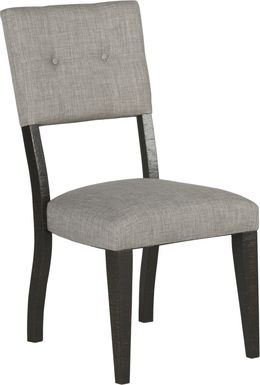 Hill Creek Black Side Chair