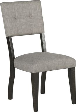 Hill Creek Black Side Chair