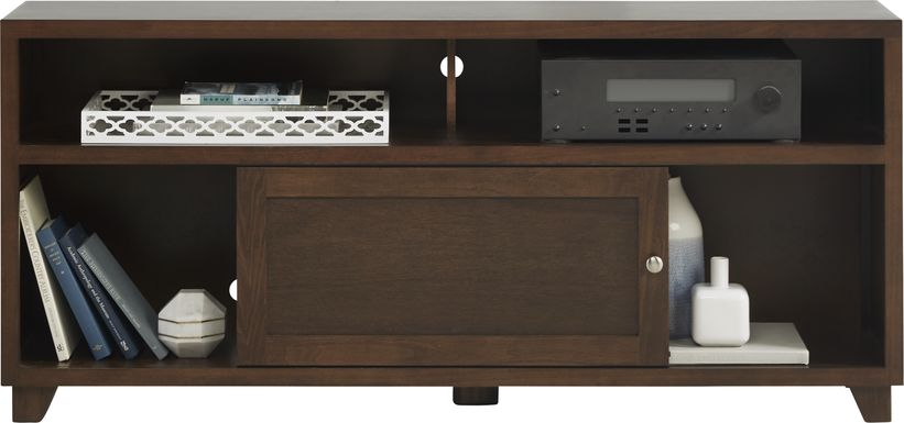 Hillard Brown Cherry 60 in. Console