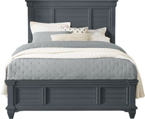 Hilton Head Graphite 3 Pc King Panel Bed