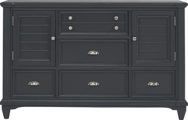 Hilton Head Graphite Door Dresser