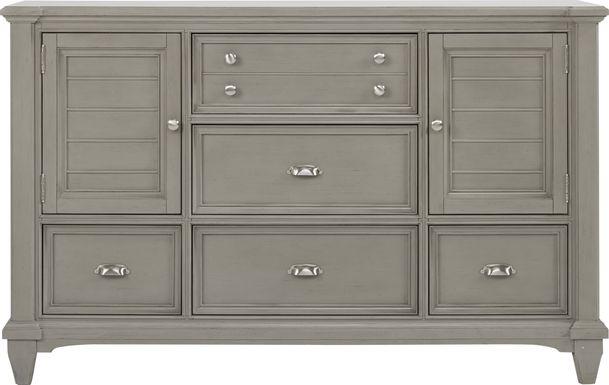 Hilton Head Gray Door Dresser
