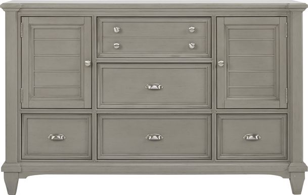 Hilton Head Gray Door Dresser