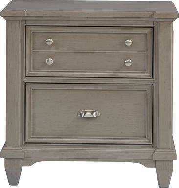 Hilton Head Gray Nightstand