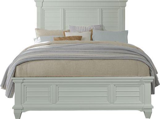 Hilton Head Mint 3 Pc King Panel Bed