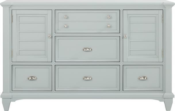 Hilton Head Mint Door Dresser