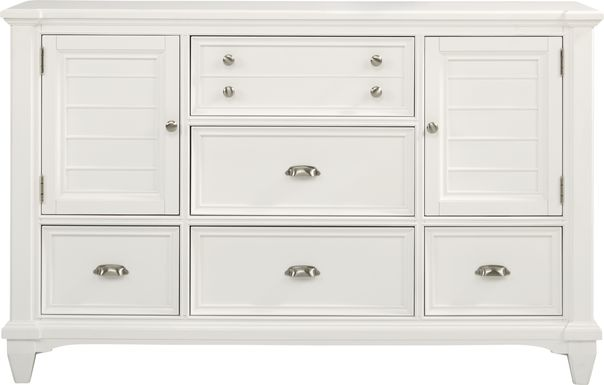 Hilton Head White Door Dresser