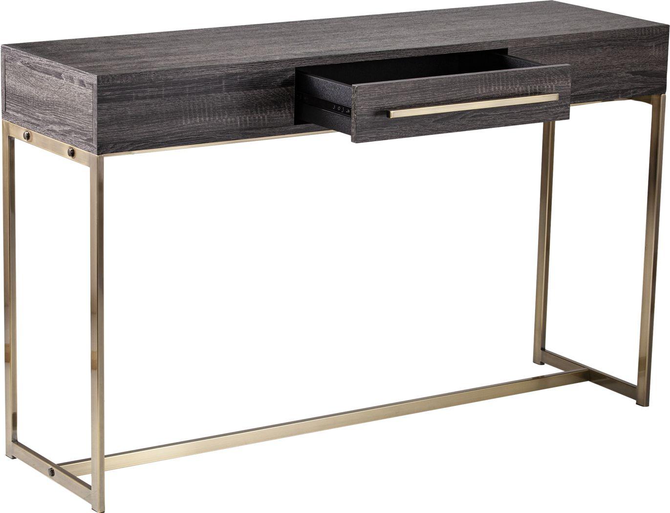 Hilwill Black Sofa Table