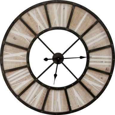 Himson Brown Clock