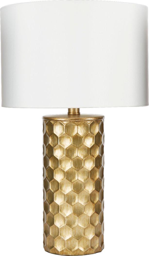 Hinkson Gold Lamp