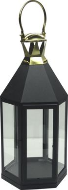 Holbeck Black Medium Indoor/Outdoor Lantern