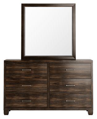 Holden's Ridge Charcoal Dresser & Mirror Set