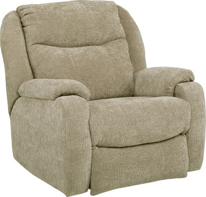 Hollace Beige Triple Power Recliner