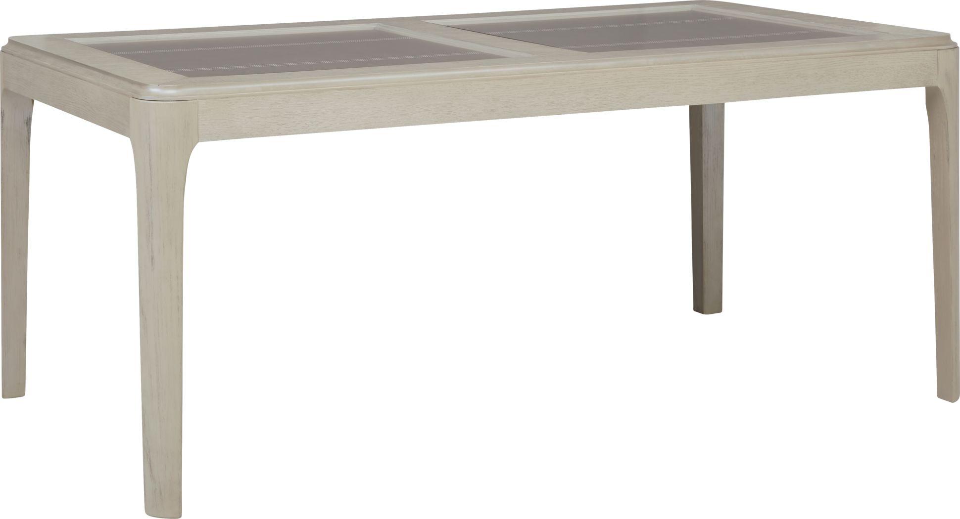 Holliston Gray Rectangle Dining Table