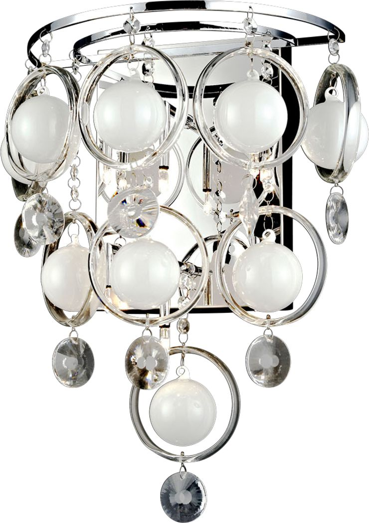 Hollow Lane Glass Sconce