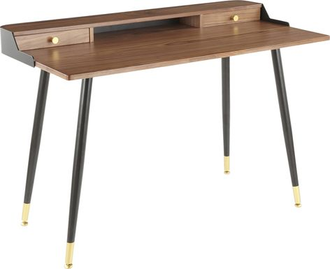 Homedale Walnut Desk