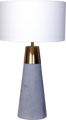 Homerest Gray Table Lamp