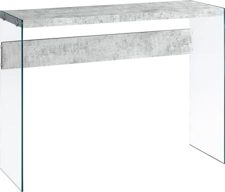 Housely Gray Console Table