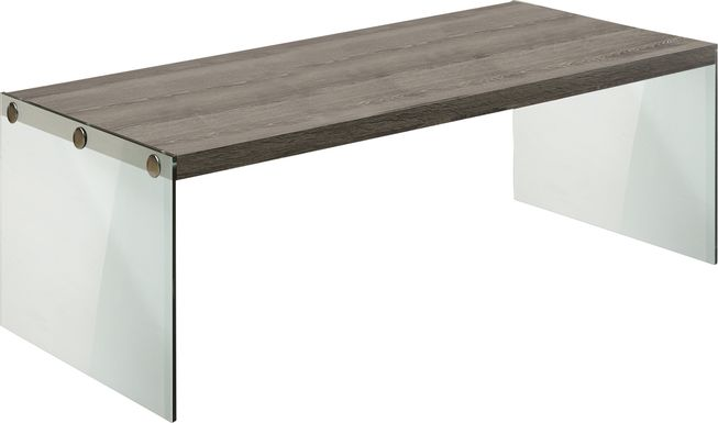 Housely Taupe Cocktail Table
