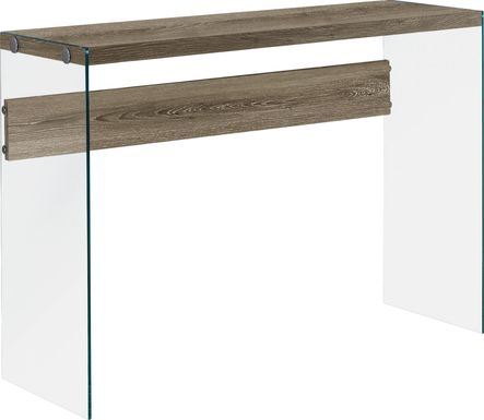 Housely Taupe Console Table