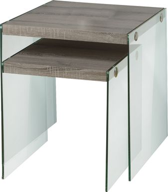 Housely Taupe Nesting Tables