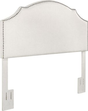 Huffaker White King Headboard