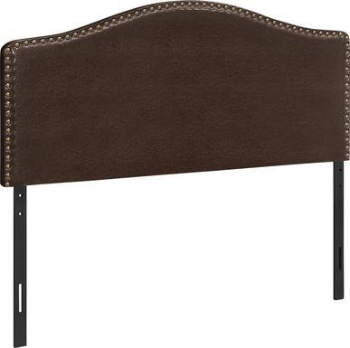 Hugur Brown Full Headboard