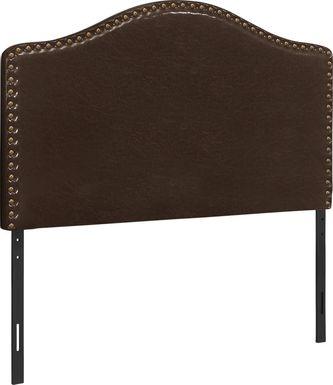 Hugur Brown Twin Headboard