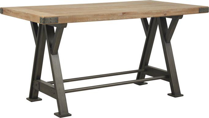 Hunter Mill Brown Counter Height Dining Table