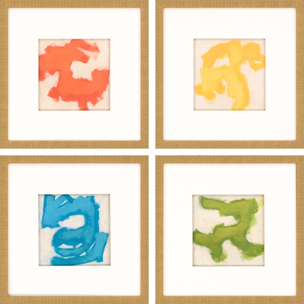 Huntleigh Brown Set of 4 Artwork