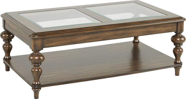 Hutton Brown Cocktail Table