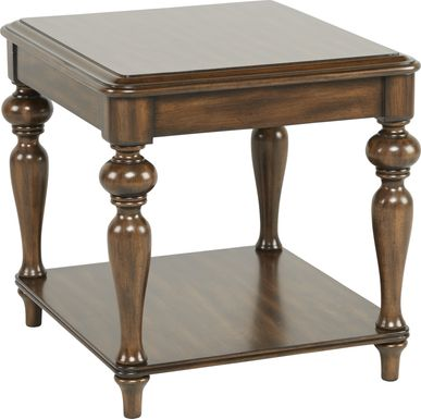Hutton Brown End Table