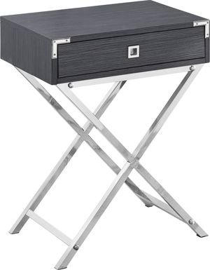 Hydesdale Charcoal Accent Table