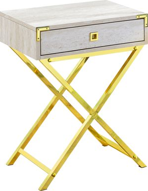 Hydesdale Gold Accent Table