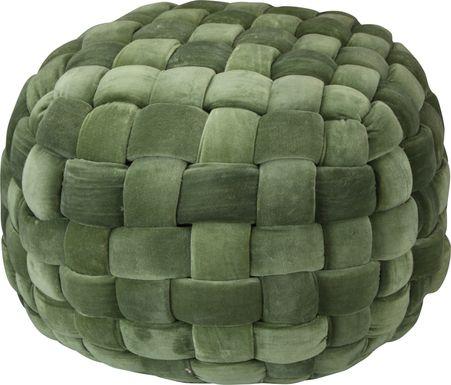 Illion Green  Pouf