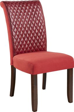 Imperial Red Side Chair